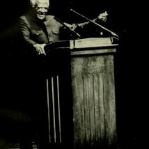 Archbishop Desmond Tutu at UMass in 1992