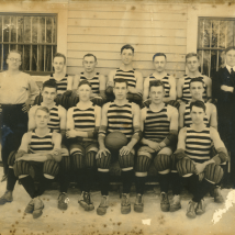 Early varsity basketball team