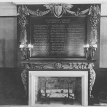 Inside Memorial Hall