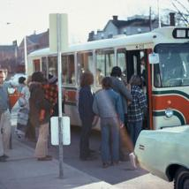 Transit system in 1970s