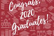 You did it! Congrats 2020 Graduates!