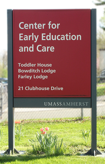 Center for Early Education and Care sign