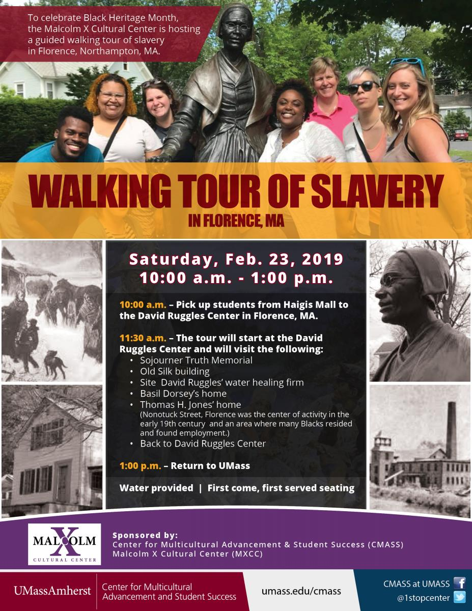Walking Tour of Slavery Flyer