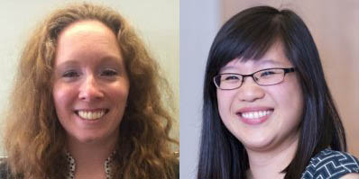 Methodology consultants Lisa Fiorenzo and Tina Chen