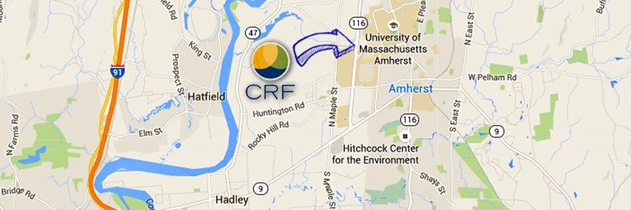 Amherst map header