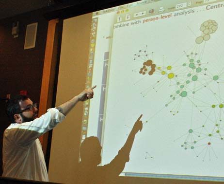 Social Network Analysis at UMass Amherst