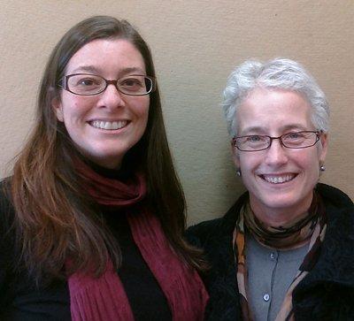 Krista Harper and Jacqueline Urla