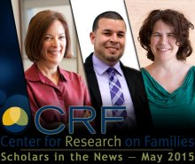 CRF Scholars in the News: May 2015