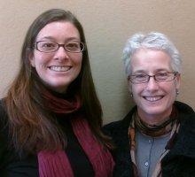 Professors Krista Harper and Jacqueline Urla