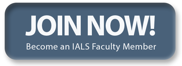 Join Now! Become an IALS Faculty Member
