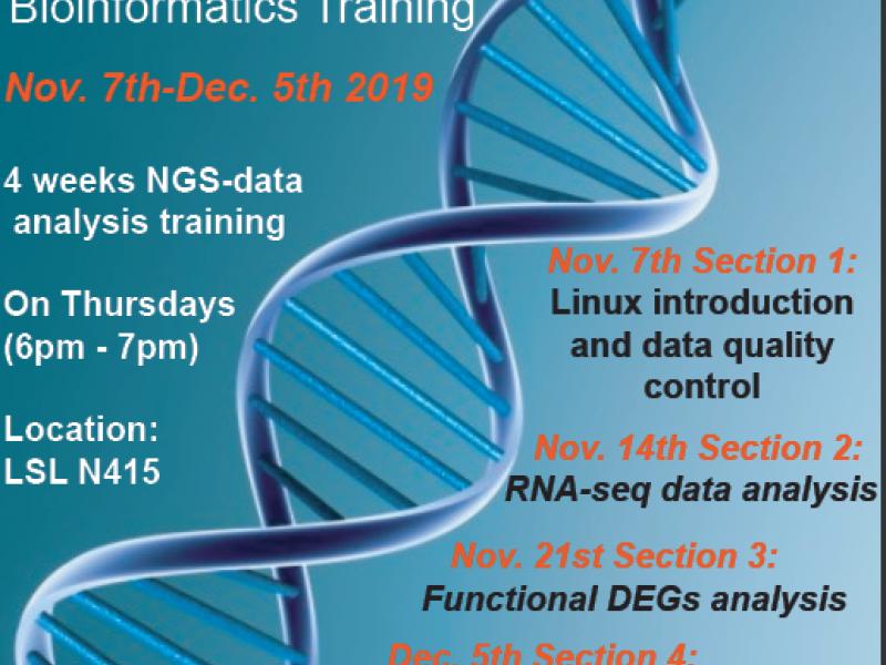 Bioinformatics Training poster