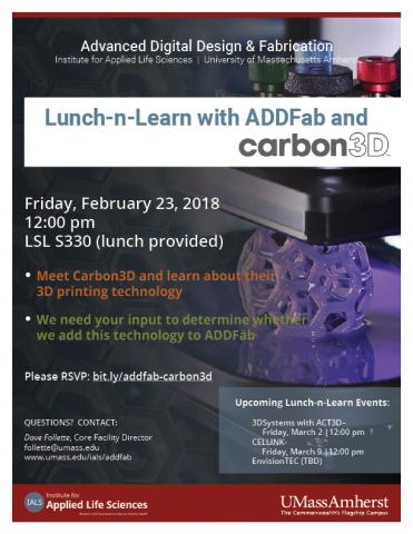 ADDFab Lunch-n-Learn Carbon3D