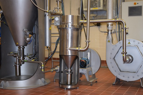 Pilot Plant Agglomeration System