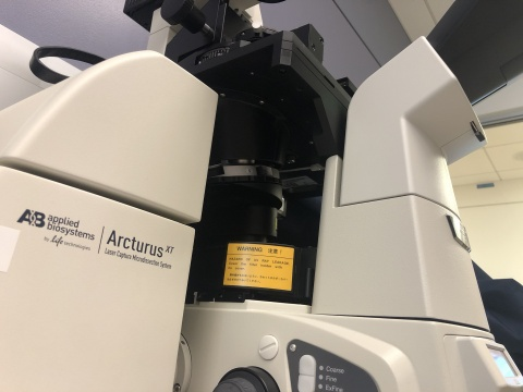 Nikon TiE with Arcturus Laser Capture Micro-Dissection