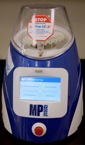 FastPrep-24 5G Sample Homogenizer (MP Biomedicals)