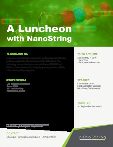 Nanostring Lunch-n-Learn