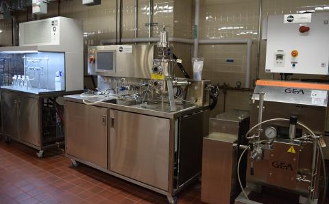 UHT/HTST Pasteurization Unit