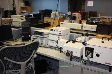 Photon Technology International (PTI) Photoluminescence Spectrometer