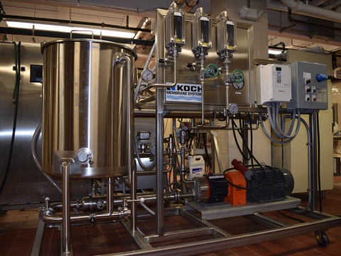 Reverse Osmosis Pilot Plant Ultrafiltration Unit