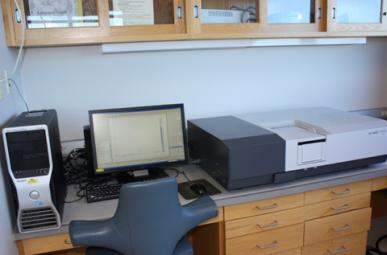 Shimadzu UV-3600 UV-VIS-NIR Spectrophotometer