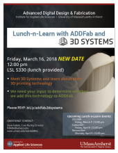ADDFab Lunch-n-Learn with 3D Systems