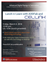 ADDFab Lunch-n-Learn with Cellink