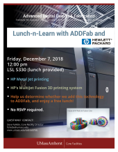 Lunch-n-Learn with ADDFab and HP