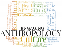 Conference Logo for Engaging Anthropology