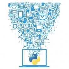 Python and Web Scraping illustration