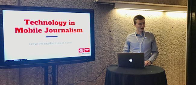 Tech in Journalism Presenter ICT Summit 2017
