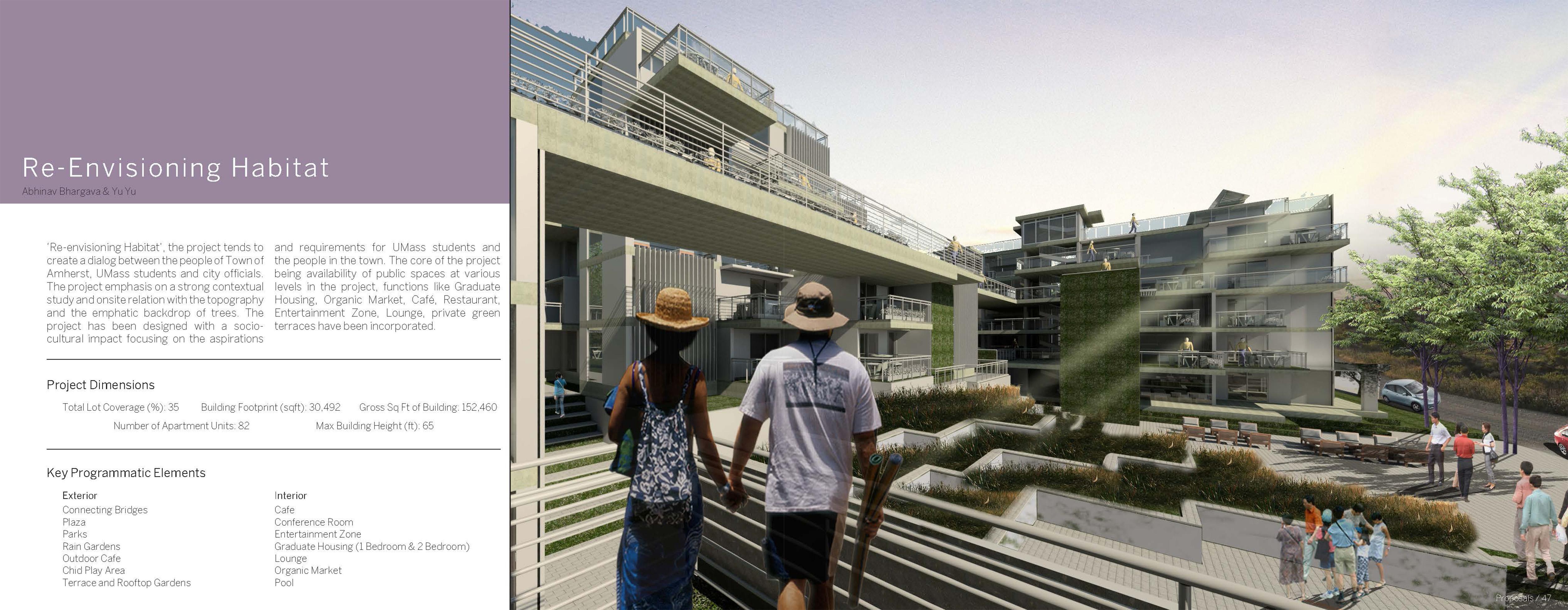 Re-Envisioning Habitat - Abhinav Bhargava & Yu Yu