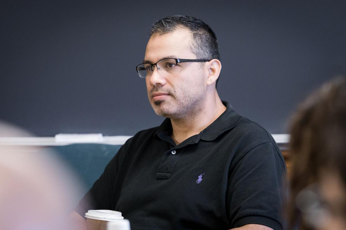Armando Ibarra, visiting affiliated faculty