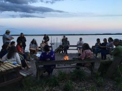 Welcome Evening Fireside.  Photo: Chris Caldwell