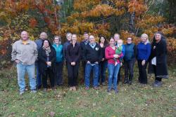 Group photo of participants in Keshena Tribal Adaptation Menu Workshop