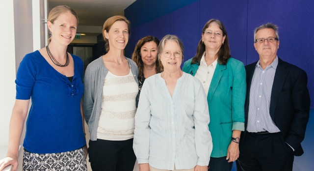 UManage research team in Skinner Hall.
