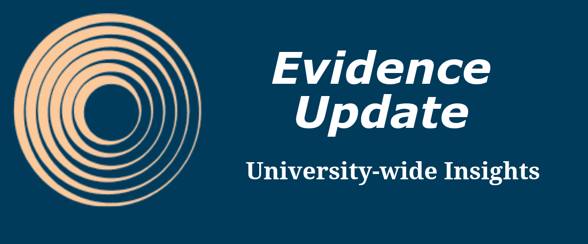 Evidence Update University-Wide Insights