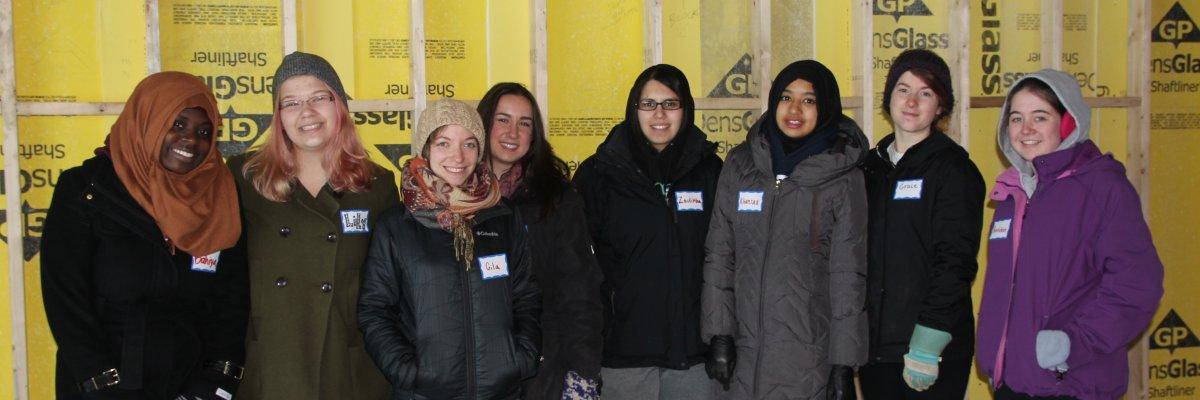 Interfaith Community Service volunteers