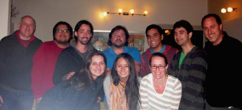 Brian Lickel, Rachel Stele and colleagues in Chile