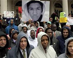 Trayvon Martin case protest
