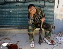 Rebel army soldier in Syria (Photo : Reuters)