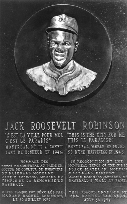 a biography of jack roosevelt robinson an american athlete Jack roosevelt robinson broke major league baseball's color barrier in 1947, when he became the first african american to play in the major leagues his success helped open.