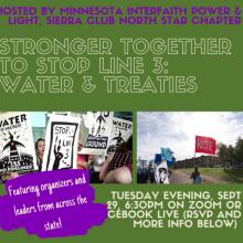 Flyer for Stronger Together event