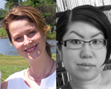 Jen Lundquist and Eiko Strader