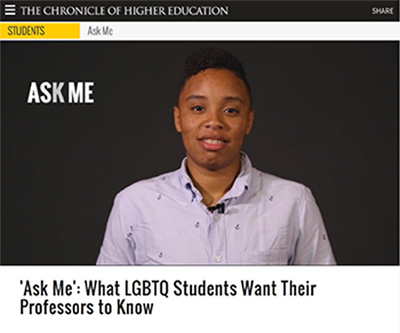 What LGBTQ Students Want Their Professors to Know
