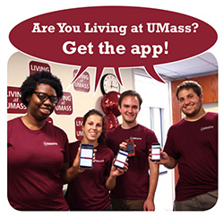 Living at UMass app