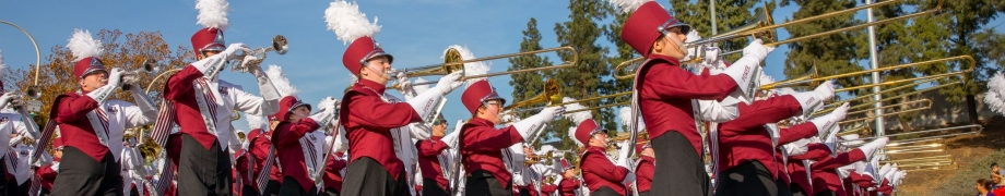 UMass Amherst marching band