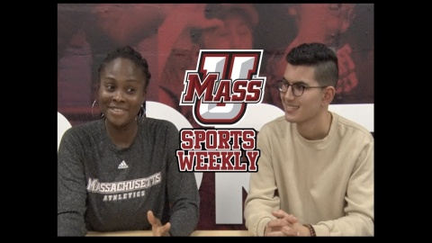 Embedded thumbnail for Interview with Tennis Captain Ruth Crawford  - UMass Sports Weekly