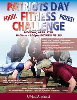 Patriots Day Fitness Challenge Monday April 17, 2017