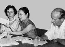 Alide and Wolfram Eberhard in Taiwan, April 1960