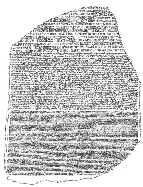 thomas young and jean champollion process Answer to based on the riddle of the rosetta stone, how do the findings of jean-françois champollion differ from the findings of thomas young a)unlike young, champollion used his knowledge of the coptic language, which allowed him to decipher some of the hieroglyphs on the rosetta stone.